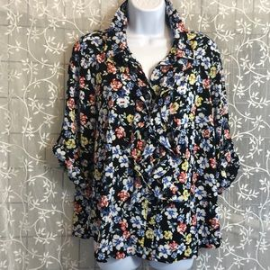 Linea by Louis Dell'Olio Floral Button Down